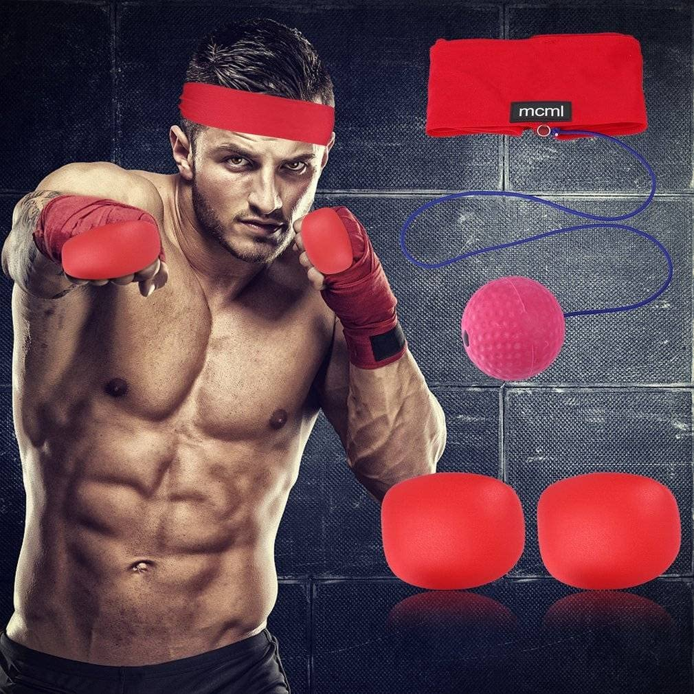 MCML Decompression Boxing Ball Training Apparatus Gym Boxing Punch Combat RM