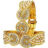 YouBella Antique Style Gold Plated Jewellery Bangles For Women