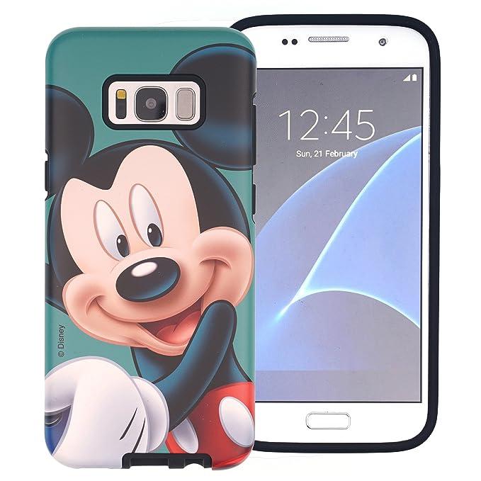 Amazon.com: Galaxy S6 Edge Case, Disney Cute Mickey Mouse ...