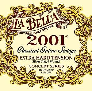 LaBella 2001EX-HARD Acoustic Guitar Strings (2001EH)