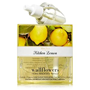 Bath & Body Works Wallflowers Home Fragrance Refill Bulbs 2 Pack Kitchen Lemon