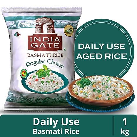 India Gate Basmati Rice Regular Choice, 1kg