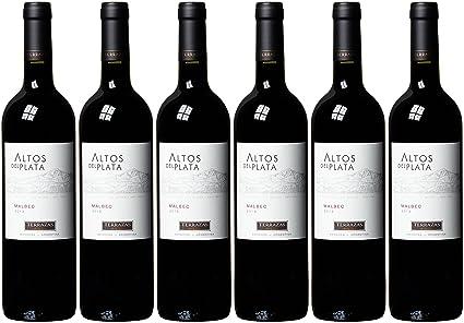 Terazas Del Los Andes Altos Del Plata Malbec 2016 6 X 0 75