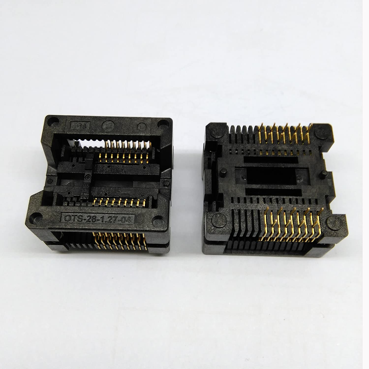 Free Shipping SOP18 SOIC18 SO18 to DIP18 Programming Socket Pitch 1.27mm IC Body Width 7.5mm 300mil Test Socket Adapter KZT