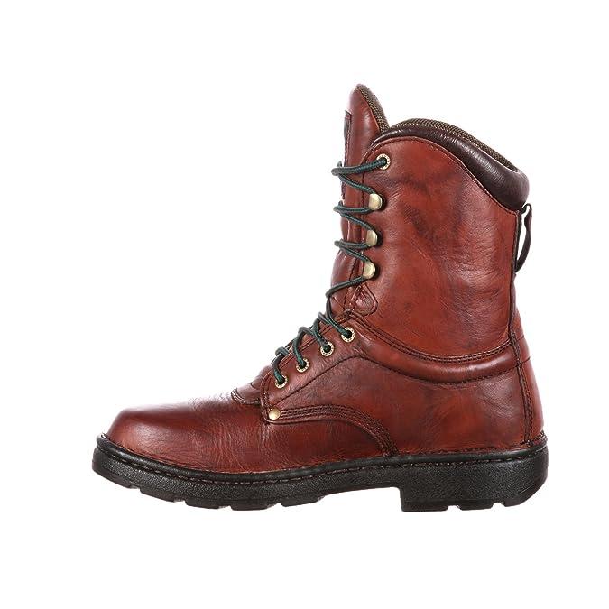 "b7dc86a547b Georgia Boot Men's Eagle Light 8"" Work Boot"