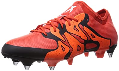 timeless design c431b b9ab0 adidas X 15.1 Soft Ground, Men s Football Boots, Red - Rot (Bold Orange. Roll  over image to zoom in