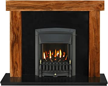 Brilliant The Fenchurch Fireplace In Acacia Granite With Valor Dream Interior Design Ideas Clesiryabchikinfo