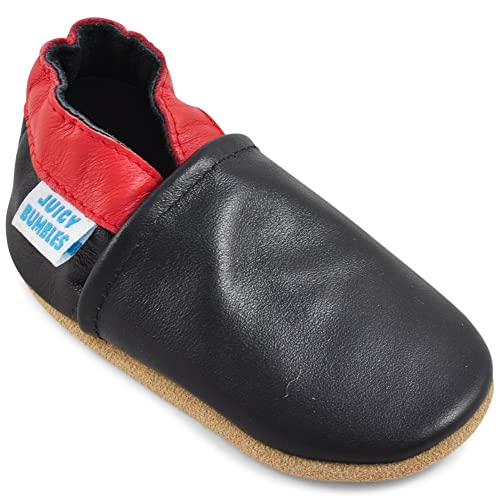 0cf0d35a4cfa Amazon.com | Soft Sole Leather Baby Shoes - Baby Boy Shoes - Baby ...