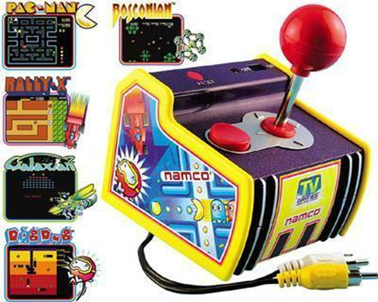 Original Pac Man Arcade Classics Namco Plug & Play TV Games