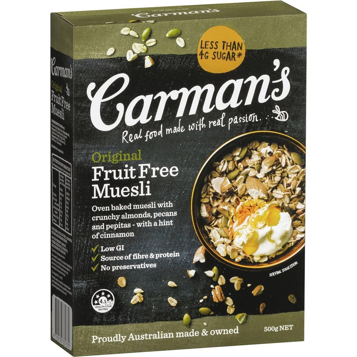 Carmans Original Muesli 500g by Carman's Kitchen