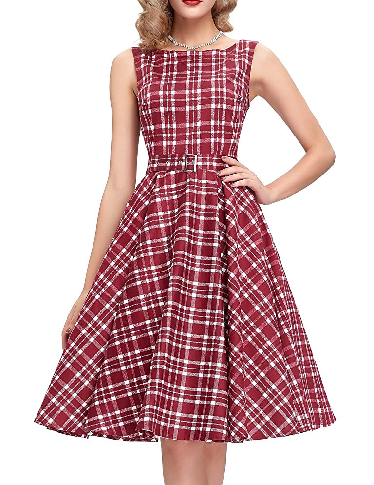 500 Vintage Style Dresses for Sale Belle Poque Belted 1950s Vintage Retro Swing Dress 2017 New Homecoming Dress BP02 $28.86 AT vintagedancer.com