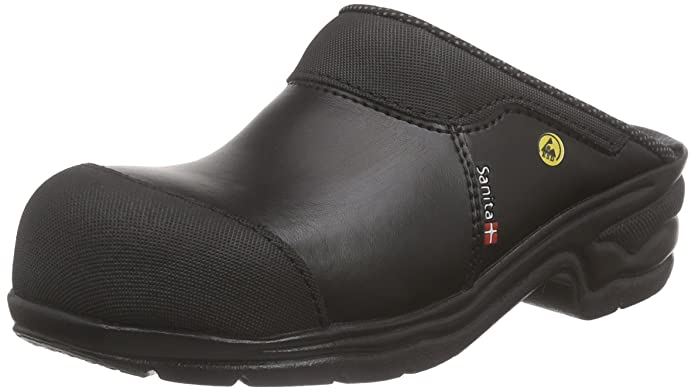 Sanita Safety Clog Open-SB, Sabots Mixte Adulte, Noir-Schwarz (Black 2), Taille 38