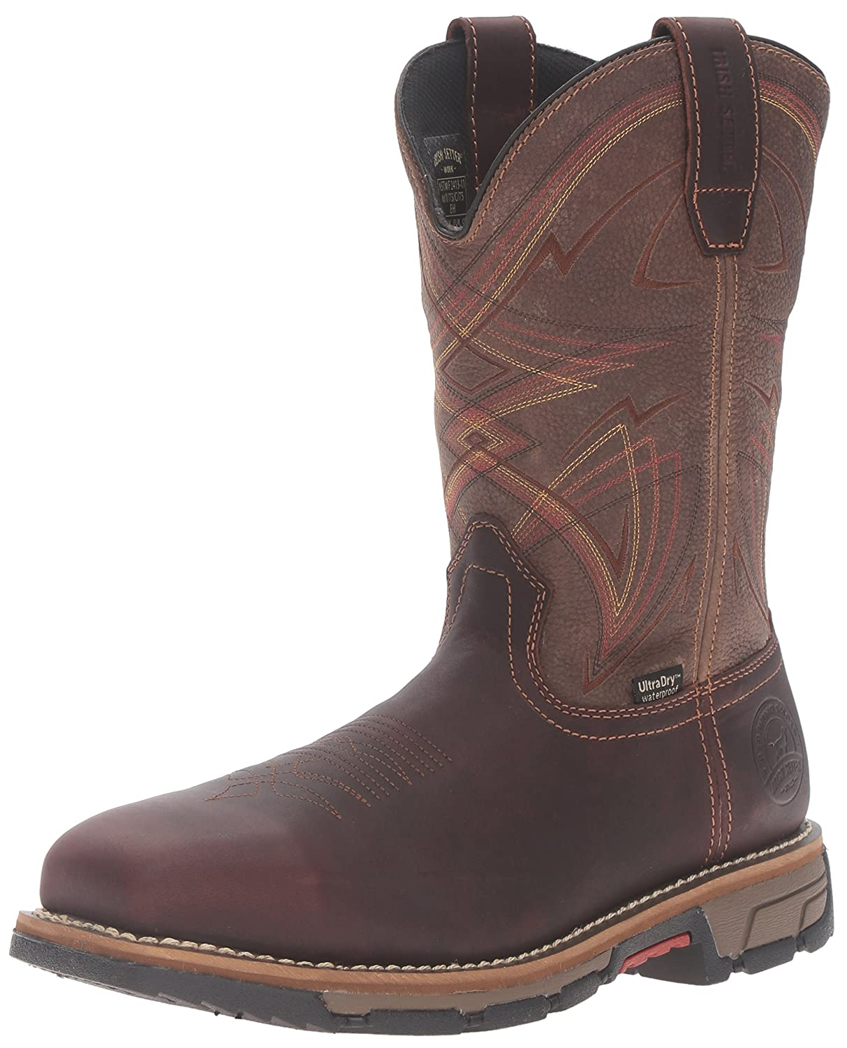 Irish Setter Work Men's Marshall 83930 Pull-On Steel Toe Work Boot ...