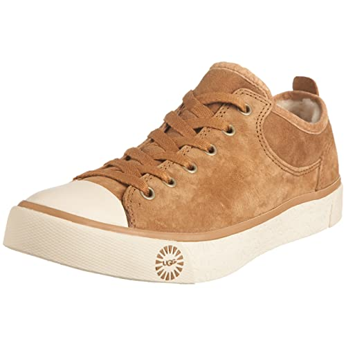 UGG Australia Womens Evera Chestnut Lace Ups Trainers 1888Chestnut5 35 UK