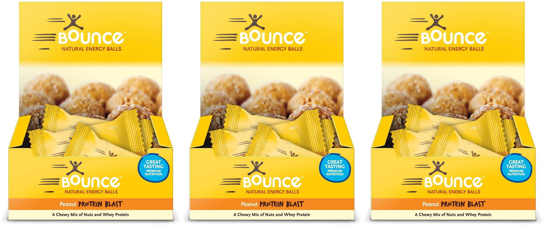 (3 PACK) - Bounce - Peanut Bounce | 12 x 49g | 3 PACK BUNDLE
