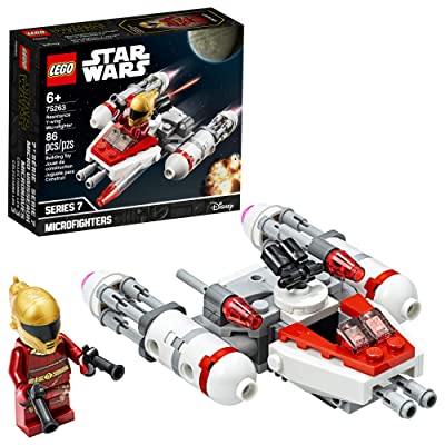 LEGO Star Wars Resistance Y-Wing Microfighter 75263 Cool Toy Building Kit for Kids, New 2020 (86 Pieces): Toys & Games