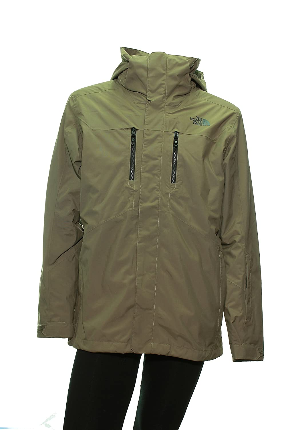 6fcccba4e49b Men s The North Face Clement Triclimate Jacket Medium Caper Berry Green   Amazon.ca  Sports   Outdoors