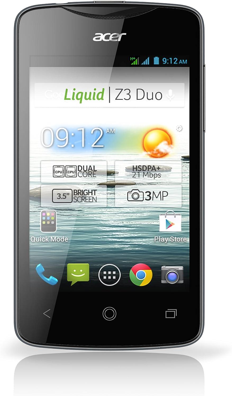 Acer Liquid Z3 - Smartphone libre Android (pantalla 3.5