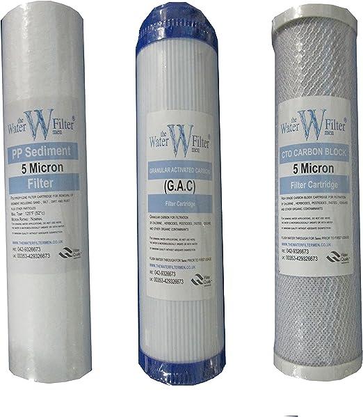 Osmosis Inversa Filtro de agua Set: Etapa 1, 2 y 3 - Los ...