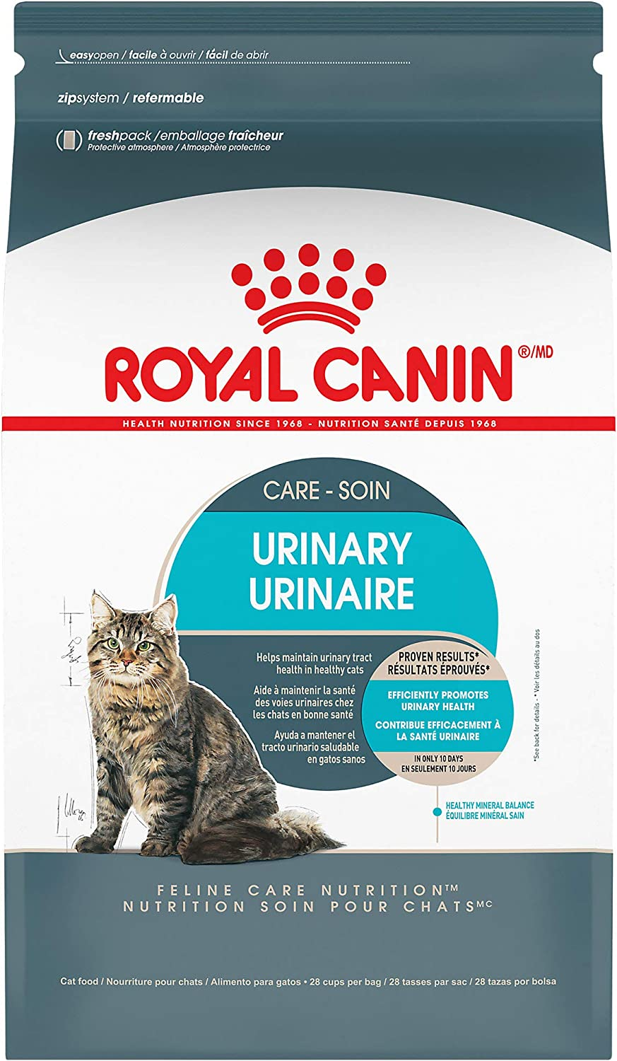 Royal Canin Feline Urinary Care Adult Dry Cat Food, 6 lbs.