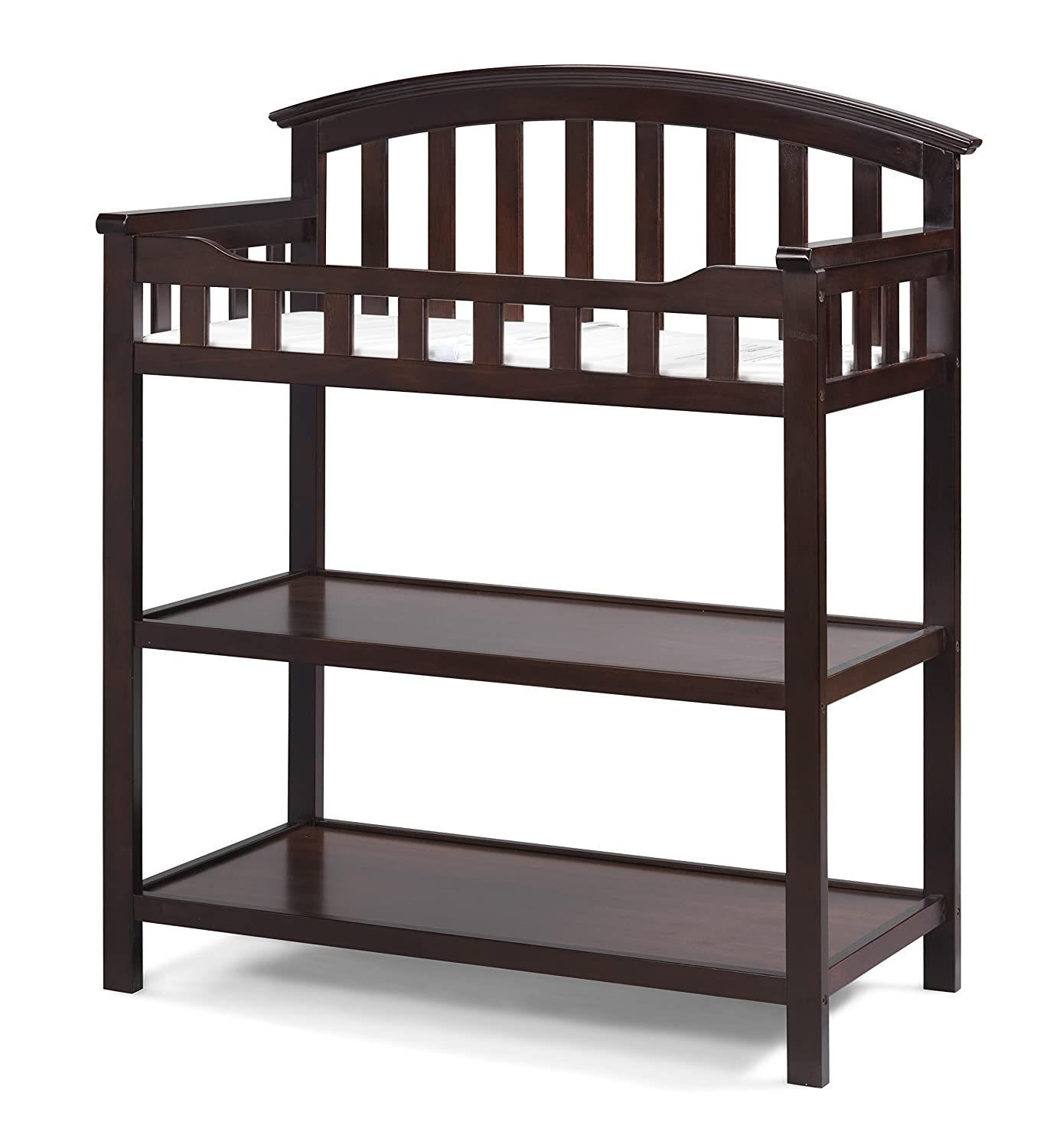 Amazon.com : Graco Changing Table, Espresso, Nursery Changing Table For  Infants Or Babies, Includes Water Resistant Changing Pad And Safety Strap,  ...