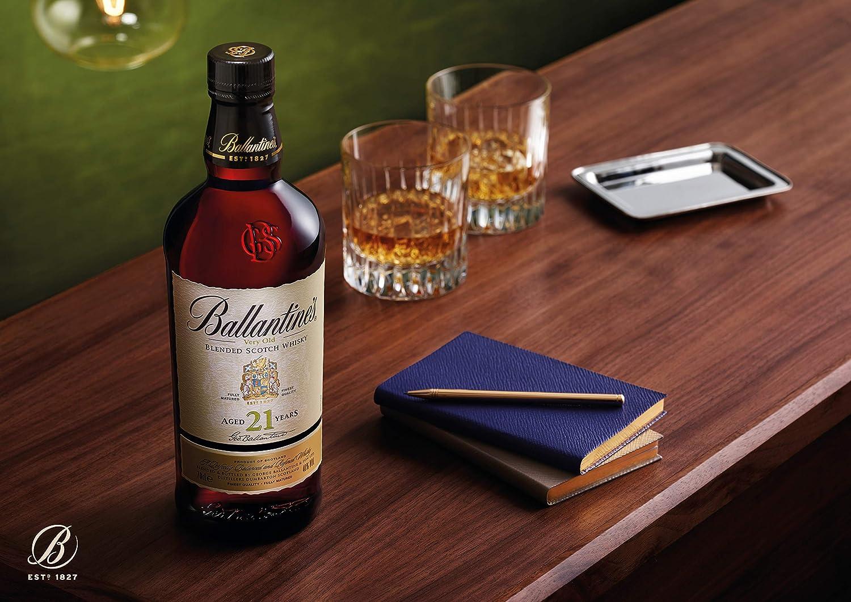 Ballantines 21 años Whisky Escocés de Mezcla - 700 ml ...