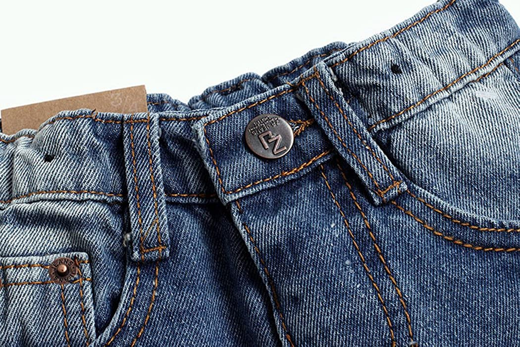 Kidscool Baby /& Toddler Elastic Waist Ripped Holes Soft Jeans
