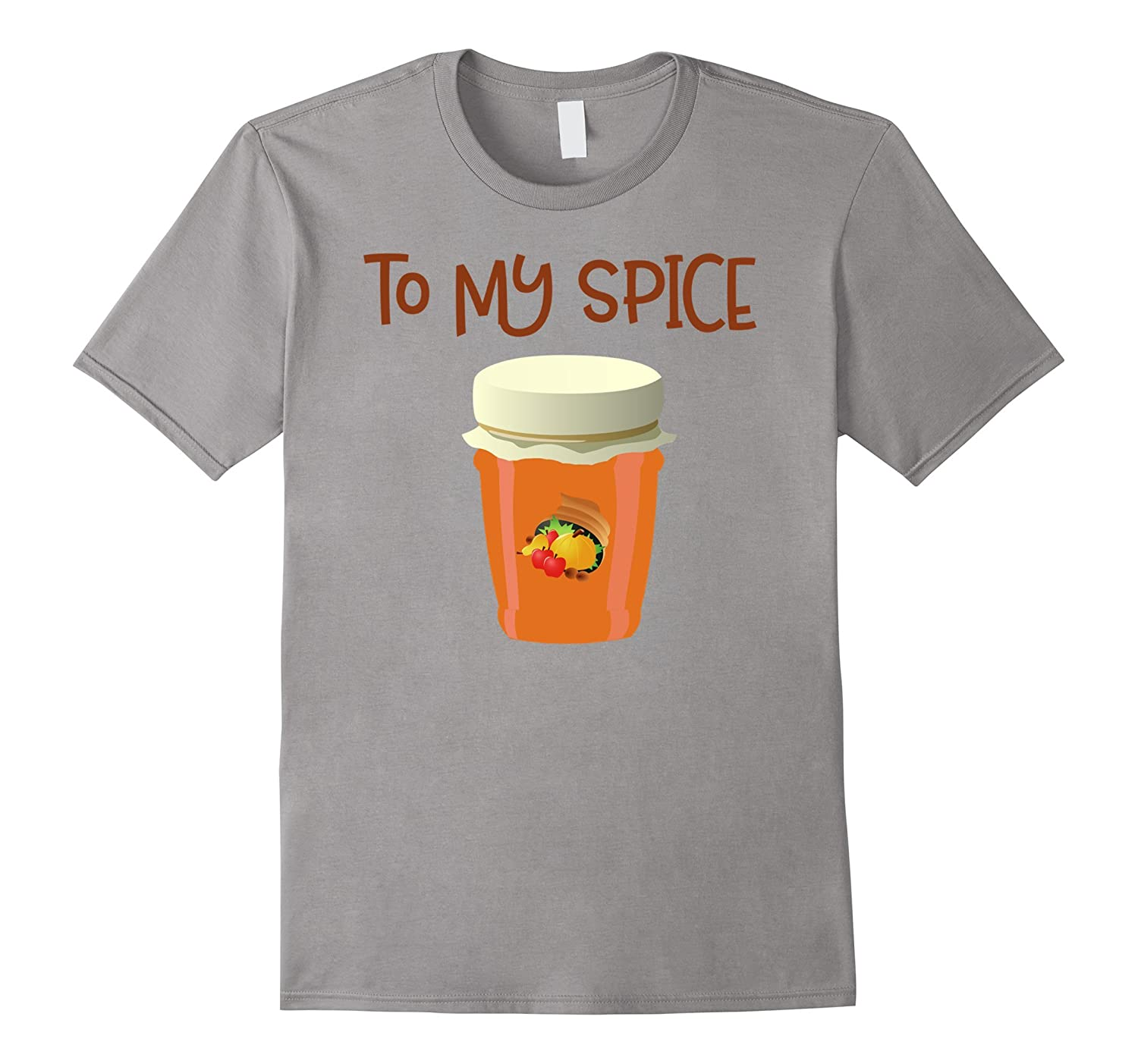 You're The Pumpkin To My Spice Couples Matching T-Shirt-FL