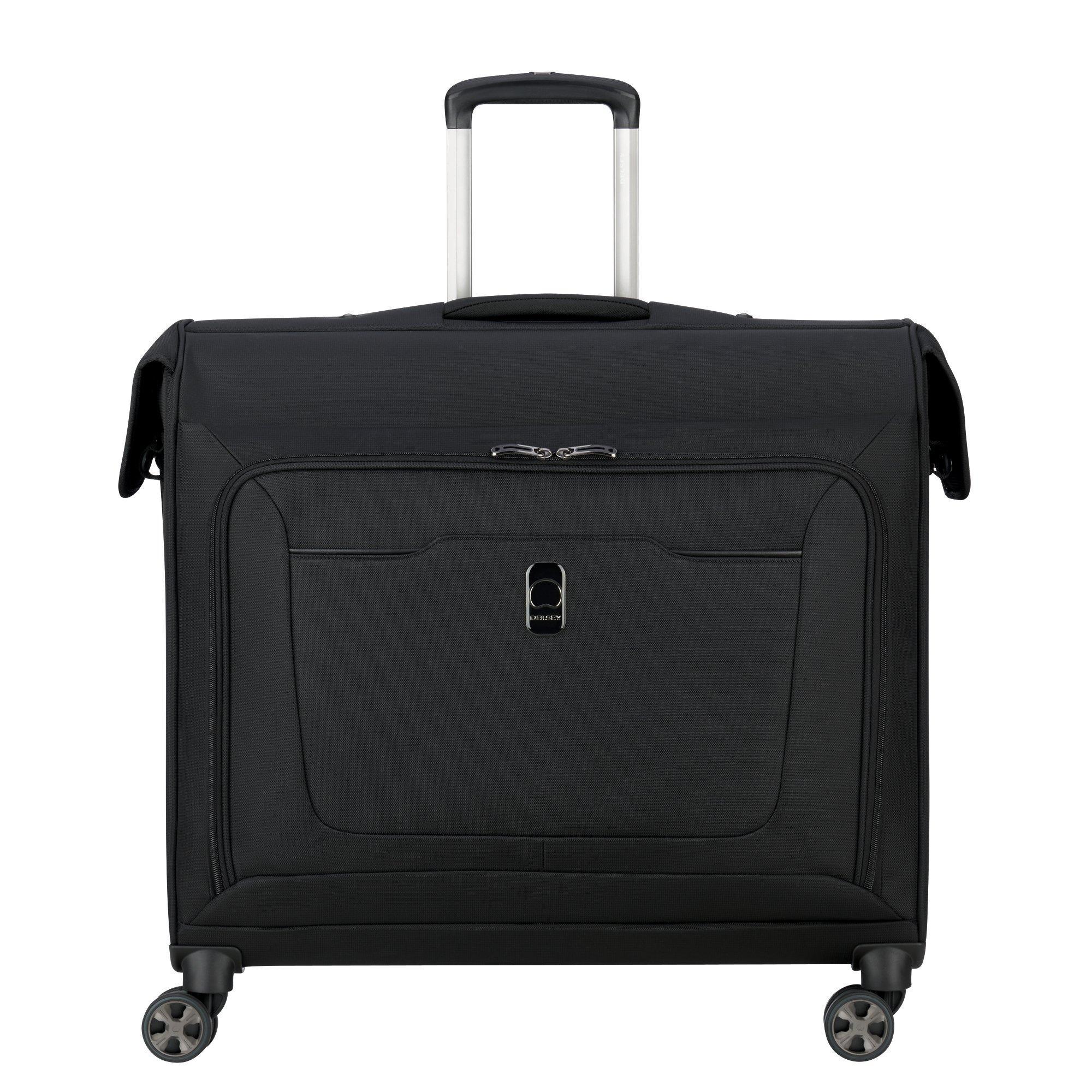 DELSEY Paris Hyperglide Spinner Garment Bag Suit or Dress, Black