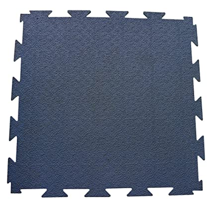 Amazon.com: Terra-Flex Interlocking Rubber Flooring - 1/4x24x24 inch ...