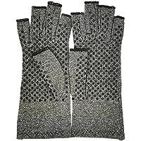NBRR Artritis Handschoenen, Vingerloos Ontwerp, Ademend & Vochtafvoerende Stof, Hand Compressie Sleeve met Vingerloos…