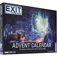 Thames and Kosmos | Kosmos Games | 693206 | EXIT: Advent Calendar | The Mystery of The Ice Cave - 24 Riddles to Solve…