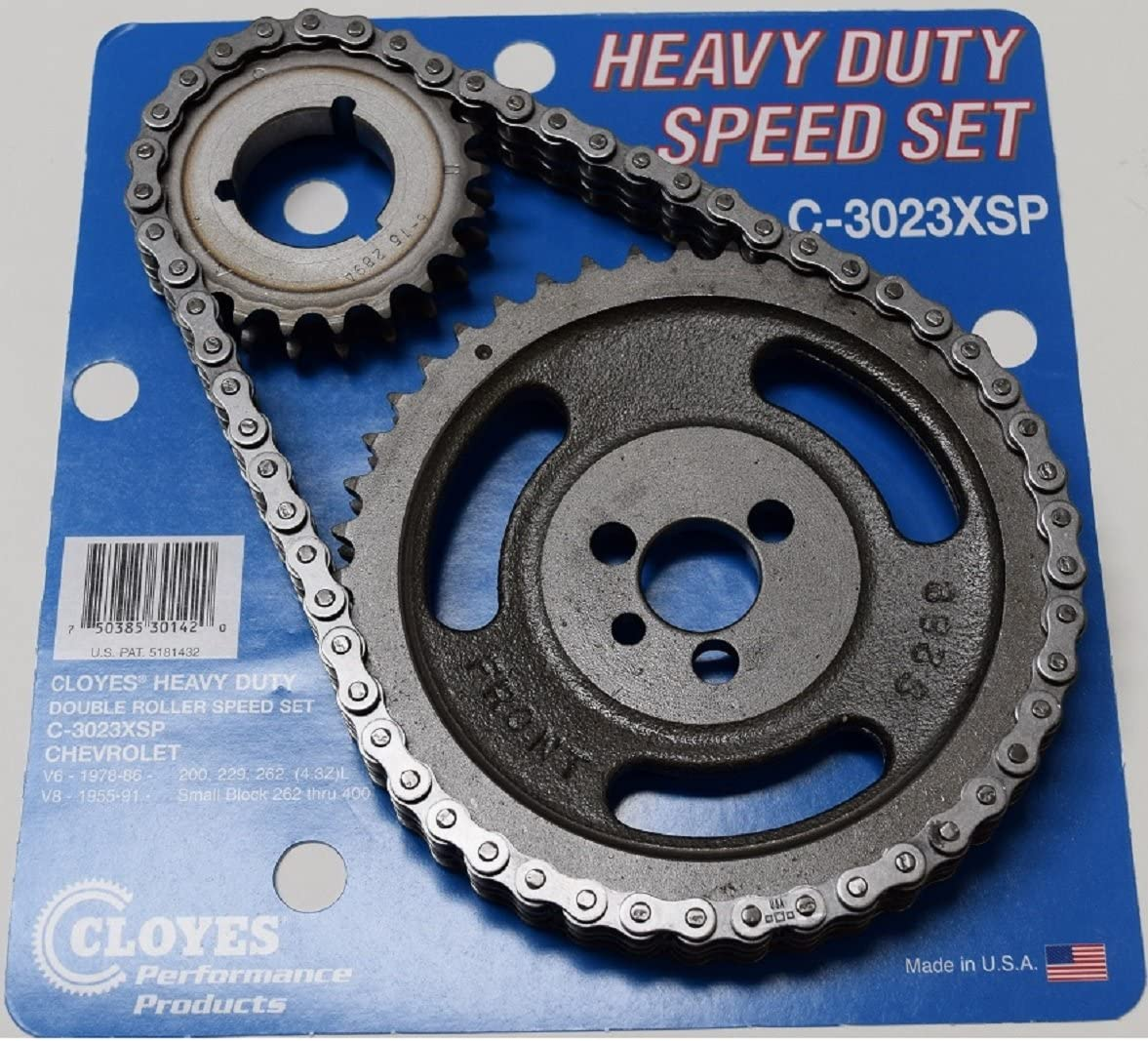CHEVY SBC 350 5.7L HP RV 447//447 CAMSHAFT LIFTERS /& ADJUSTABLE TIMING KIT L-79 327 3863151