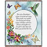 """Pure Country Weavers """"Circle of Friendship"""" Tapestry Throw"""