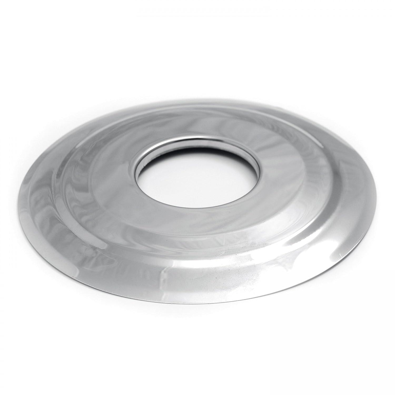 raik 1-09-3600-080 Pelletrohr/Ofenrohr 80mm - Wandrosette INOX
