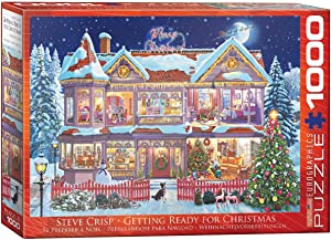 EuroGraphics Getting Ready for Christmas Puzzle (1000 Pieces) (6000-0973)