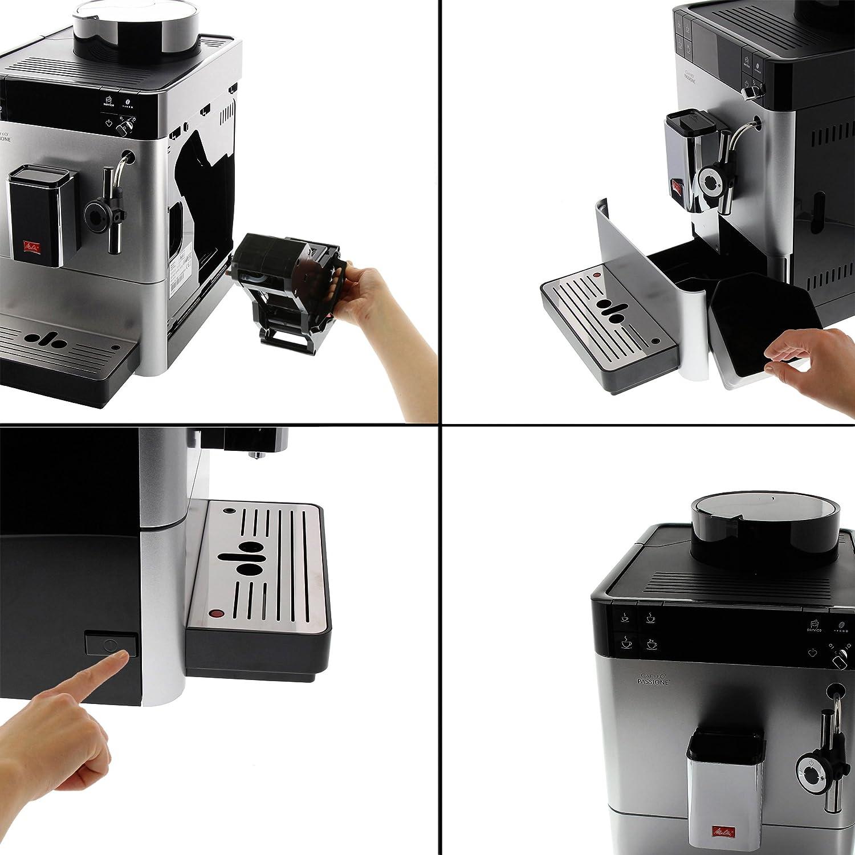Auto-Cappuccinatore Black Melitta Passione F53//0-102 Bean to Cup Coffee Machine