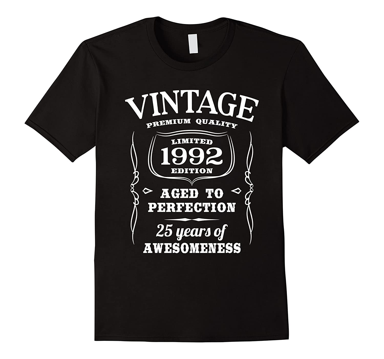 25th Birthday Gift T-Shirt Limited 1992 Edition-Art