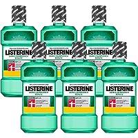 Listerine Gebitsbeschermer Mondspoeling, Compleet Mondwater, Antibacterieel Voor Gezond Tandvlees (6 X 600 Ml)