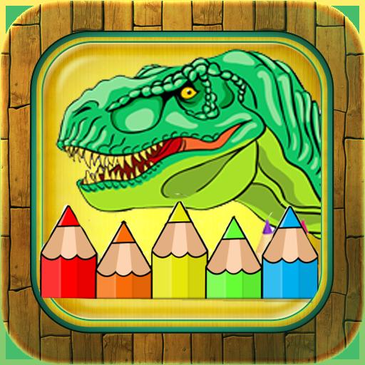 Coloring Dinosaurs Kids