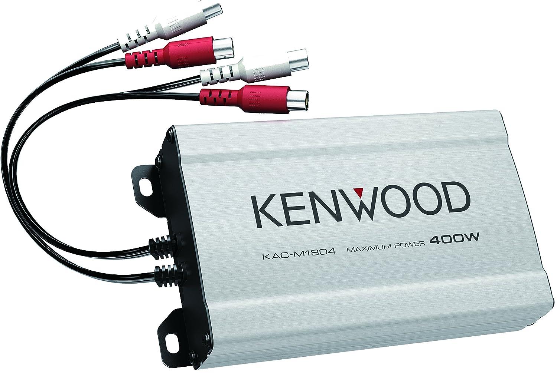 Kenwood KAC-M1804 Amplificador de Potencia Digital de 4 Canales: Amazon.es: Electrónica
