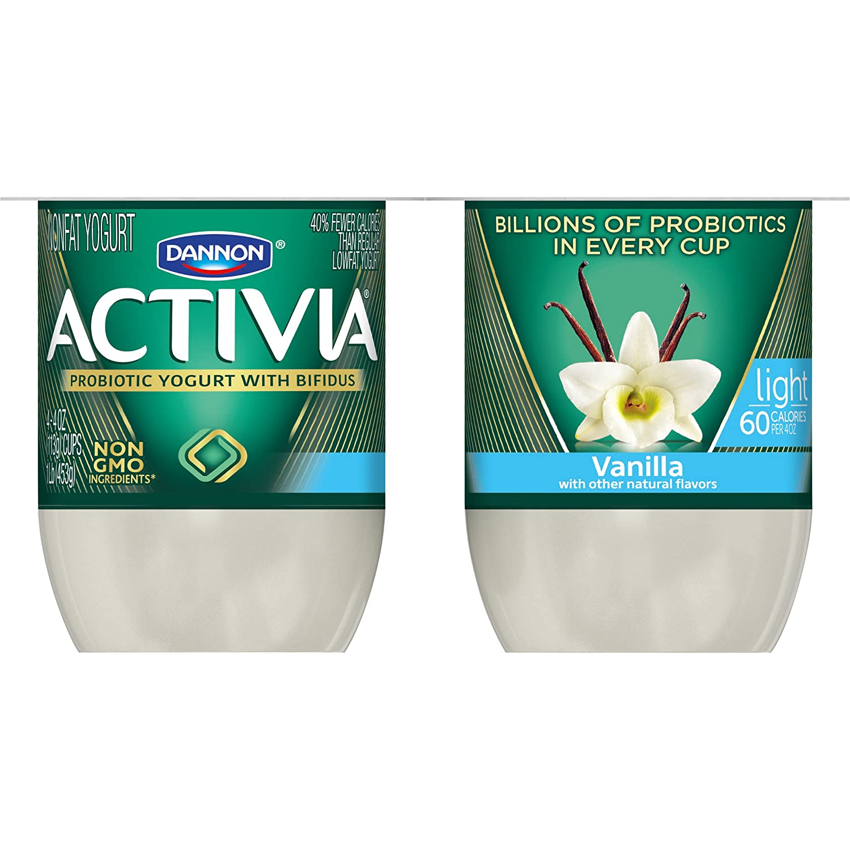 Dannon Activia Greek Yogurt Nutrition Facts Vanilla ...