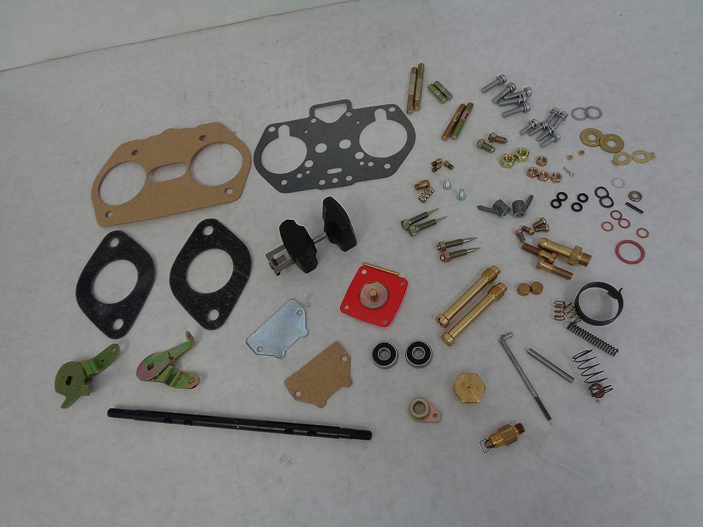 PAIR WEBER 40-44-48 IDF CARB REBUILD-OVERHAUL KITS WITH FLOAT HPMX 40-44