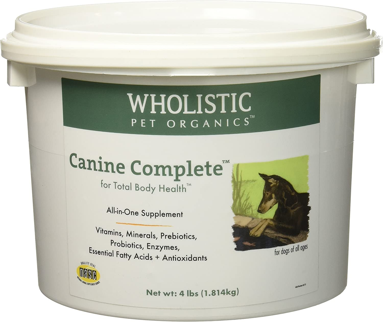 Wholistic Pet Organics Canine Complete Multivitamins