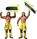 WWE Series #28 Jimmy Uso and Jey Uso Figure with Surfboard (2-Pack)