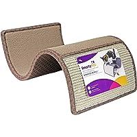 SmartyKat Scratch Scroll Cat Scratcher Carpet and Sisal Cat Furniture