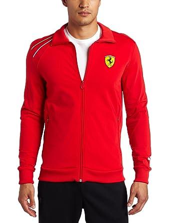 56591a76d64 PUMA Apparel Men s Scuderia Ferrari Track Jacket