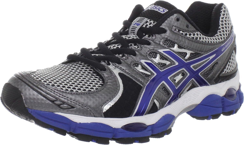 ASICS 'Gel-NimbUK 14' 2E Men's Sneakers in Lightning/Royal/Black  T242N-9359: Amazon.co.uk: Shoes & Bags