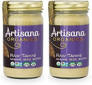 product image for Artisana Organics Raw Tahini Sesame Seed Butter, 14 oz (2 Pack)
