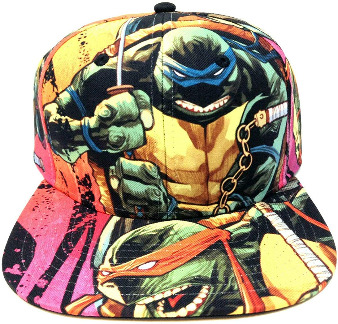 Teenage Mutant Ninja Turtles Sublimated All Over Print Snapback